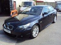 2007 BMW 5 SERIES 3.0 530D M SPORT 4d AUTO 232BHP + PRIVATE REG £7190.00