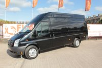 USED 2012 12 FORD TRANSIT 2.2 350 TREND H/R 1d 124 BHP FACTORY BLACK