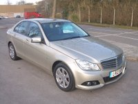 2012 MERCEDES-BENZ C CLASS 2.1 C220 CDI BLUEEFFICIENCY SE 4d 168 BHP £11995.00