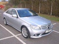 2008 MERCEDES-BENZ C CLASS 2.1 C200 CDI SPORT 4d AUTO 135 BHP £9995.00