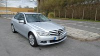 2010 MERCEDES-BENZ C CLASS 2.1 C200 CDI BLUEEFFICIENCY EXECUTIVE SE 4d 136 BHP £8995.00