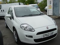 USED 2013 62 FIAT GRANDE PUNTO 1.2 ACTUAL MULTIJET VAN 74 BHP NO VAT