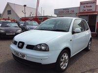 2001 SEAT AROSA 1.4 S TDI 3d 74 BHP £1495.00