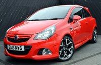 2013 VAUXHALL CORSA 1.6 VXR 3 DOOR 6-SPEED 189 BHP £9490.00