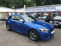 2014 BMW 1 SERIES 3.0 M135I 3d AUTO 316 BHP £21495.00