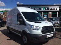 2014 FORD TRANSIT 2.2 350 H/R RWD 125 BHP LOW 5200 MILES FROM NEW  £15495.00