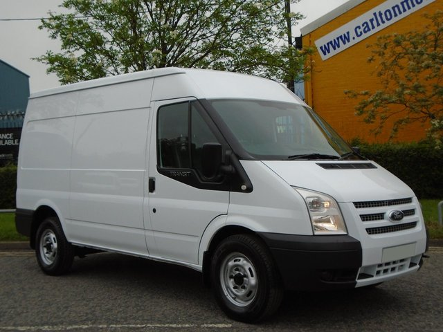 2012 12 FORD TRANSIT T350 Mwb Medium roof [ Mobile Workshop+ A/Con ]  panel Van Fwd Free UK Delivery