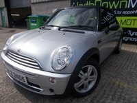 USED 2007 MINI CONVERTIBLE 1.6 ONE 2d 89 BHP Superb Little Convertible, Finance Available, No Deposit Necessary