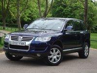 2007 VOLKSWAGEN TOUAREG 2.5 SE DPF 5d AUTO 172 BHP £9475.00