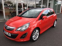 2014 VAUXHALL CORSA 1.4 SRI 3DR ELECTRIC PANORAMIC ROOF £7499.00