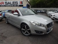 2010 VOLVO C70 2.0 D SE LUX 2d 136 BHP RED LEATHER £10495.00
