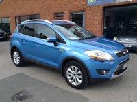 2009 FORD KUGA 2.0 TITANIUM TDCI 2WD 5d 134 BHP £SOLD