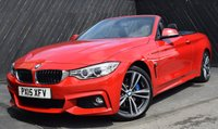 2015 BMW 4 SERIES 420d M-SPORT AUTO CONVERTIBLE 184 BHP £28990.00