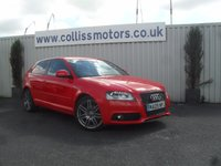 2009 AUDI A3 2.0 TDI S LINE SPECIAL EDITION 3d 138 BHP £9999.00