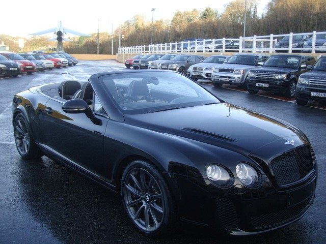 2011 11 BENTLEY CONTINENTAL 6.0 GTC SUPERSPORTS 2dr