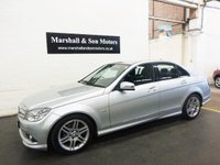 2010 MERCEDES-BENZ C CLASS 2.1 C220 CDI BLUEEFFICIENCY SPORT 4d AUTO 170 BHP £9000.00