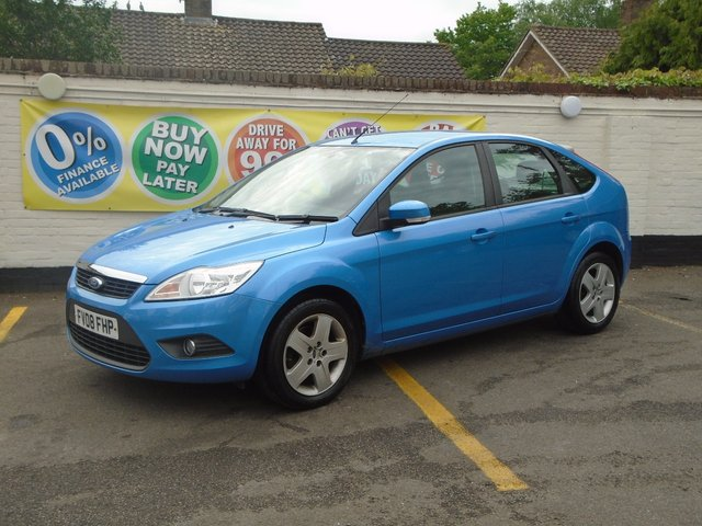 2008 08 FORD FOCUS 1.6 STYLE 5d 100 BHP