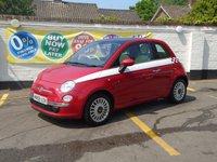 2008 FIAT 500 1.4 LOUNGE 3d 99 BHP £4500.00