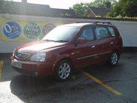 2006 KIA CARENS 2.0 LX 16V CRDI 5d 111 BHP £2000.00