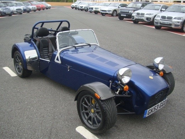 2004 53 CATERHAM SUPER SEVEN 1.6 K-Series Sports 2dr