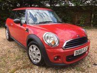 2010 MINI HATCH ONE 1.6 ONE 3d AUTO 98 BHP £5850.00