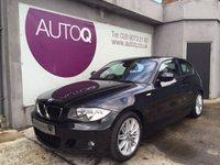 2011 BMW 1 SERIES 2.0 118D M SPORT 3d 141 BHP £9995.00