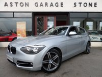 2013 BMW 1 SERIES 2.0 118D SPORT 5d 141 BHP ** SAT NAV ** £11300.00