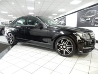 2014 MERCEDES-BENZ C CLASS C220 CDI AMG SPORT PLUS AUTO BLUEEFF £16850.00