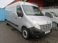 2014 RENAULT MASTER 2.3 LWB Extra LM35 DCi 125 *AIR CON+SAT NAV* £11995.00