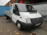 2012 FORD TRANSIT 2.2 TDCi 125PS 13ft 6 Alloy Dropside £SOLD