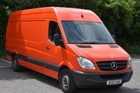2012 MERCEDES-BENZ SPRINTER 2.1 313 CDI  5d 129 BHP LWB HIGH ROOF DIESEL MANUAL VAN  £8290.00