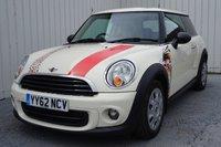 2012 MINI HATCH FIRST 1.6 FIRST 3d 75 BHP £6495.00
