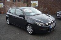 2014 PEUGEOT 308 1.6 HDI ACTIVE 5d 92 BHP £9750.00