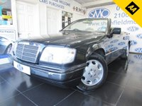 USED 1995 N MERCEDES-BENZ E CLASS 2.2 E220 2d AUTO 150 BHP JUST ONE OWNER FROM NEW / FSH