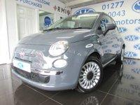 2014 FIAT 500 1.2 LOUNGE 3d 69 BHP £6795.00