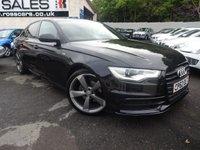 2013 AUDI A6 2.0 TDI S LINE BLACK EDITION 4d 175 BHP [�5780 WORTH OF EXTRAS] £14995.00