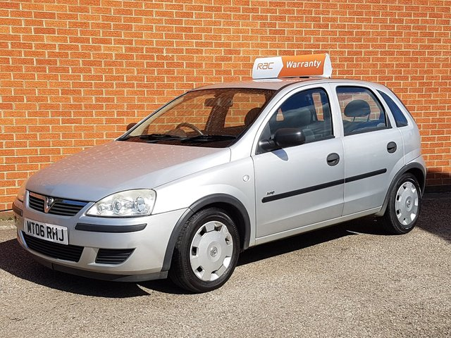2006 06 VAUXHALL CORSA 1.2 LIFE CDTI 16V 5 Door ** ONLY £30 ROAD TAX **