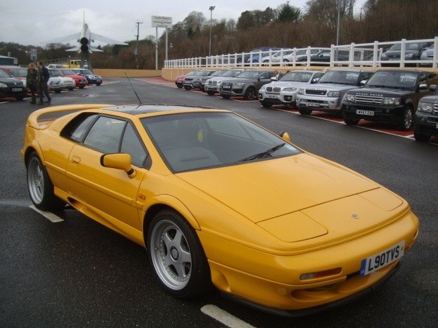 1995 LOTUS ESPRIT 2.2 S S4 2d 300 BHP