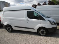 2015 FORD TRANSIT CUSTOM 2.2 270 SHORT WHEEL BASE, SEMI HIGH ROOF, ONLY 4,000 MILES! B/TOOTH, ELECTRIC PACK, IMMACULATE CONDITION, JUST BEEN SERVICED. £13500.00
