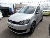 2012 VOLKSWAGEN CADDY 1.6 C20 TDI BLUEMOTION 102 1d 101 BHP £6450.00