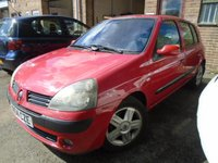 2004 RENAULT CLIO 1.5 DYNAMIQUE DCI 5d 65 BHP £995.00
