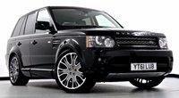 2011 LAND ROVER RANGE ROVER SPORT 3.0 TDV6 HSE 5dr Auto  £29995.00