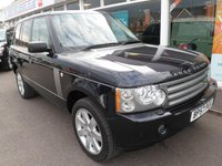 2008 LAND ROVER RANGE ROVER 3.6 TDV8 VOGUE SE 5d AUTO 272 BHP £17995.00