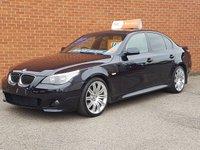 2006 BMW 5 SERIES 3.0 530D M SPORT 4d AUTO 228 BHP SAT NAV £7495.00