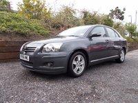 2006 TOYOTA AVENSIS 1.8 T3-X VVT-I 5d 127 BHP £2695.00