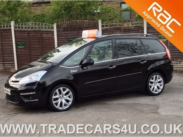 2012 12 CITROEN C4 GRAND PICASSO HDI DIESEL EXCLUSIVE 7 SEATER