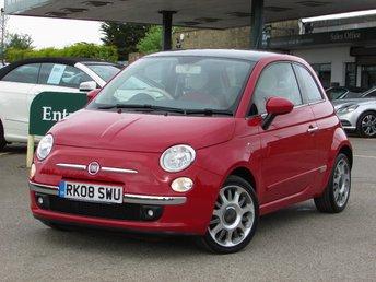 2008 FIAT 500 1.4 LOUNGE 3d 99 BHP £5500.00