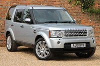 2010 LAND ROVER DISCOVERY 3.0 4 TDV6 HSE 5d AUTO 245 BHP £18980.00