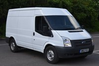 2012 FORD TRANSIT 2.2 T350 5d 100 BHP MWB M/ROOF DIESEL MANUAL PANEL VAN  £6750.00