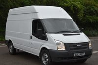 2013 FORD TRANSIT 2.2 T350 5d 100 BHP LWB H/ROOF MANUAL DIESEL PANEL VAN  £8390.00